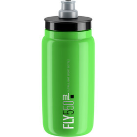 Elite Fly Drinking Bottle 0.5 l, green/black logo